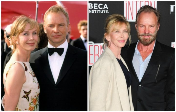 Sting and Trudie Styler - Married for 25 years.