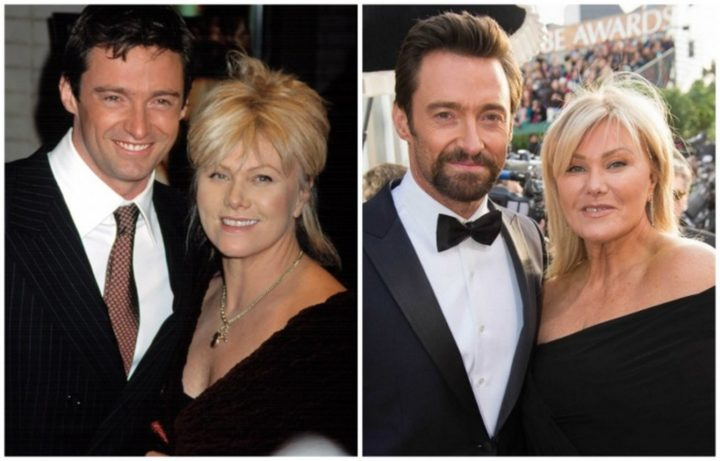 Hugh Jackman and Deborra-Lee Furness - Married for 21 years.