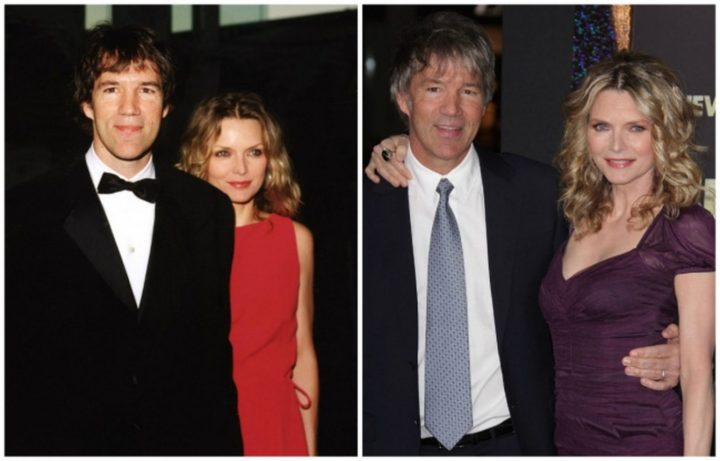 Michelle Pfeiffer and David E. Kelley - Married for 24 years.
