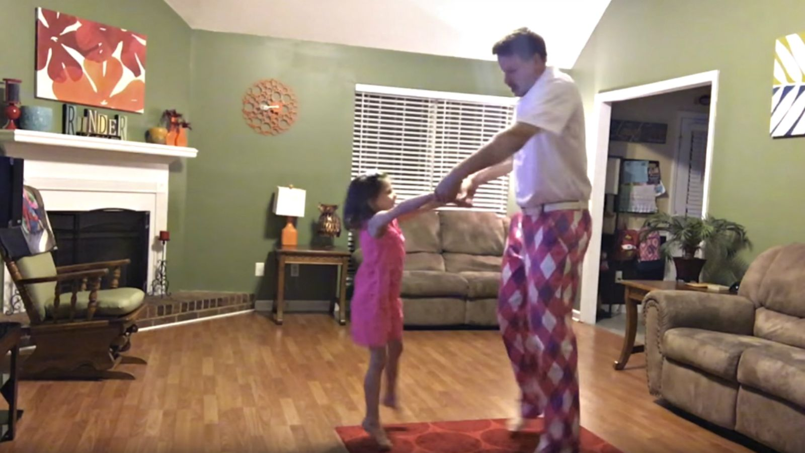 Dad Hits the Record Button While Dancing with His Daughter and You'll Be Glad He Did!