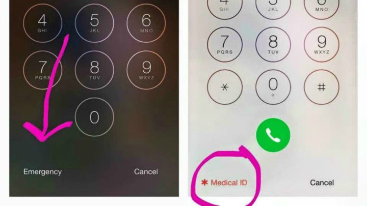 how to set emergency contact on iphone