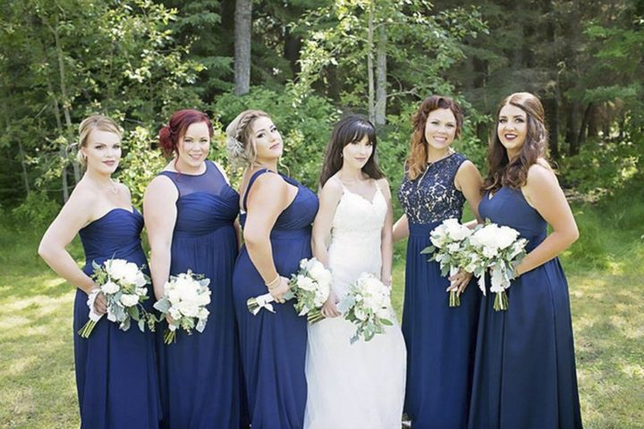 Rebecca Foster asked her BFF Sharilyn Wester to be her maid of honor at her wedding in Bonnyville, Alberta.