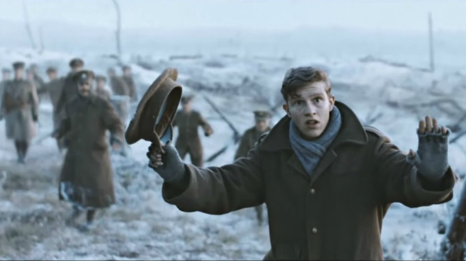 Sainsbury's Christmas Advert Recreates the Christmas Truce of 1914.