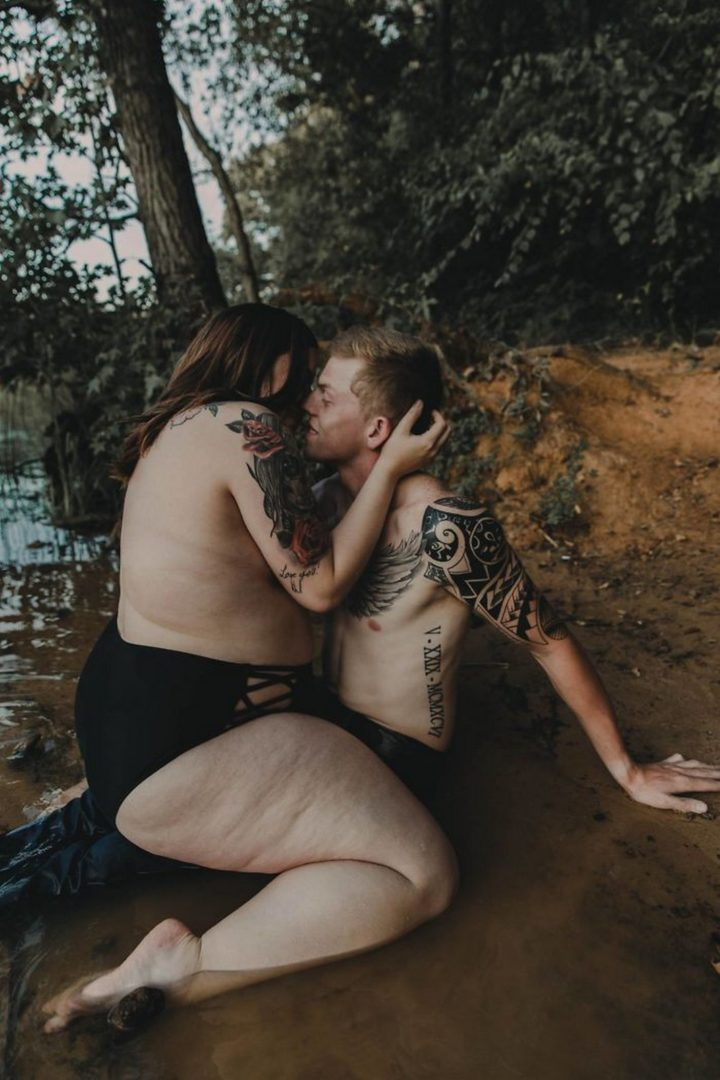 Stephanie and Arryn, a young engaged couple from Texas participated in the photo shoot and were shocked and delighted at how amazing they turned out.