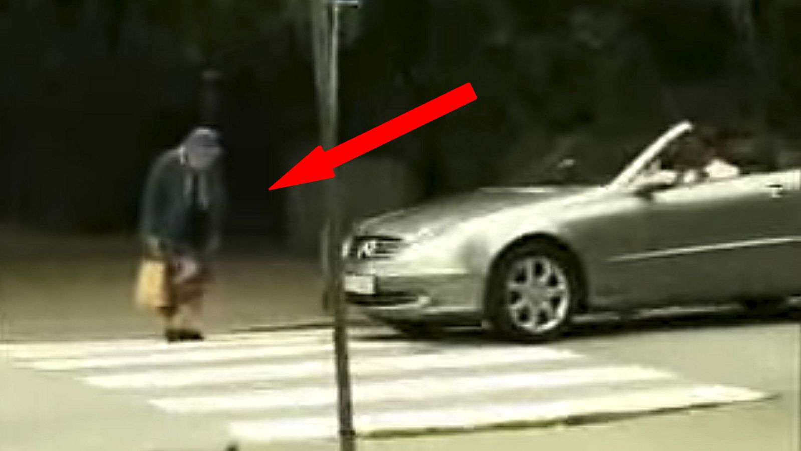 Elderly Woman Gets Her Revenge at Rude Man Honking His Car Horn.