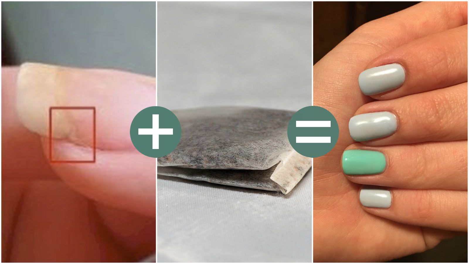 Broke Your Nail? Learn How to Fix Broken Nails with the Help of a Tea Bag!