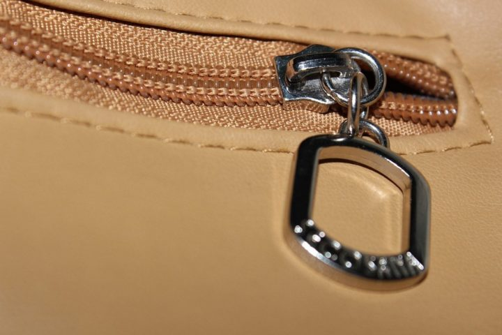 How to fix a zipper pull that broke off.