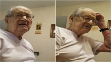 98-Year-Old Dad's Hilarious Reaction When He Finds Out How Old He Is.