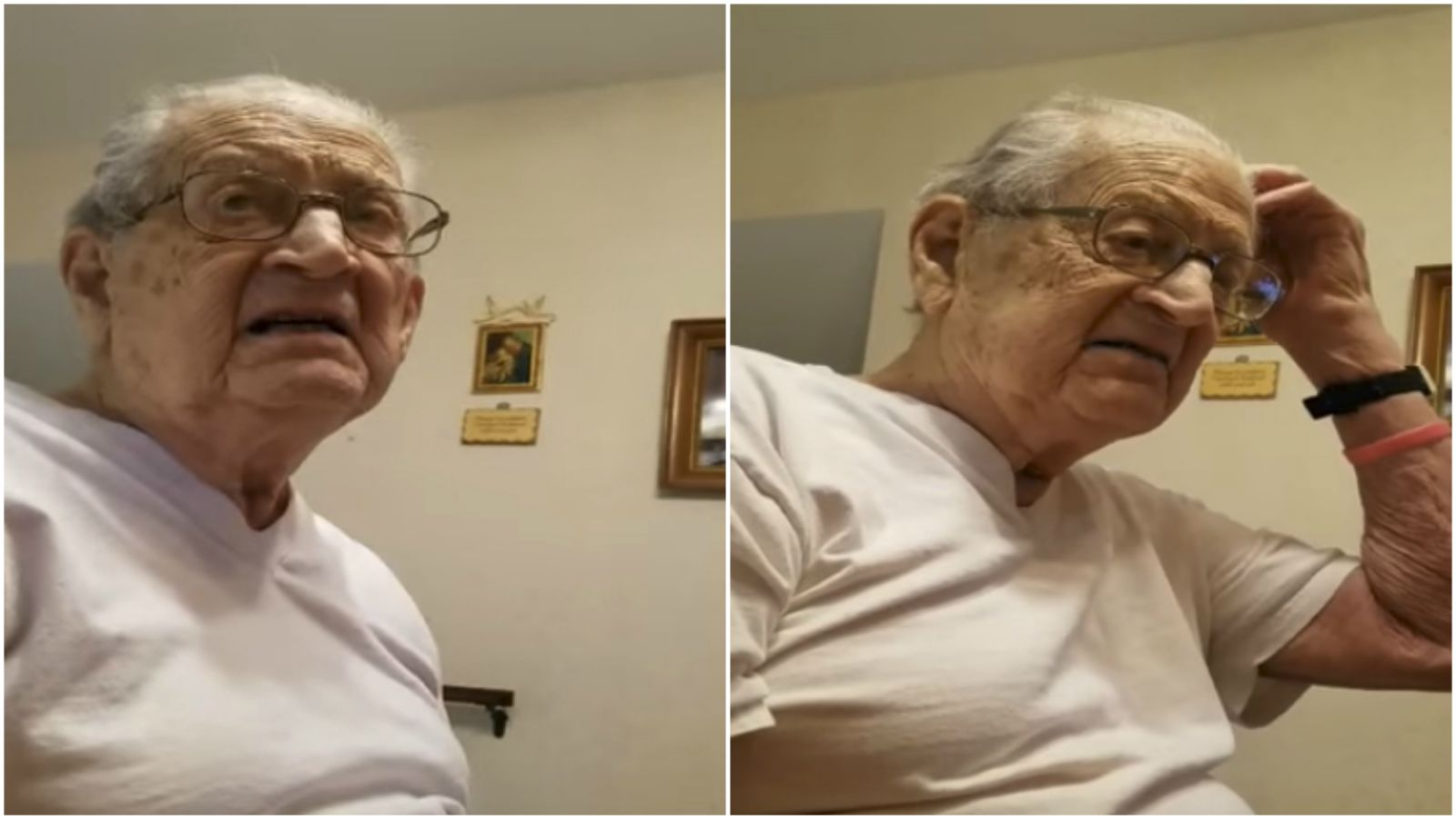 Son Asks His 98-Year-Old Dad How Old He Is. His Reaction Will Have You LOL!