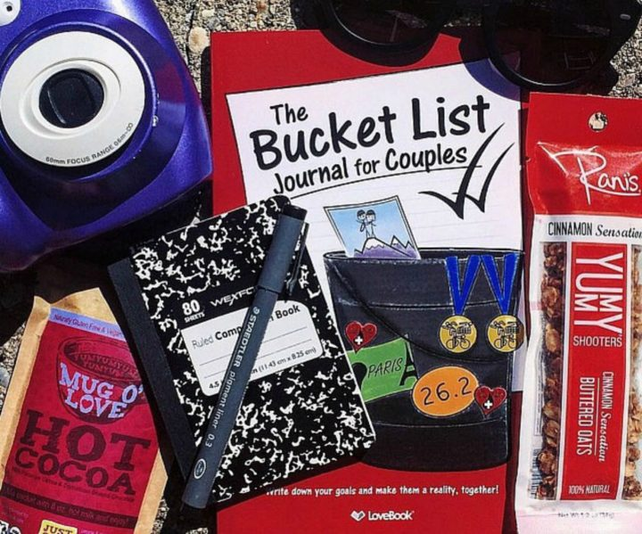 21 Unique Valentine's Day Gifts - 'The Bucket List For Couples' journal.