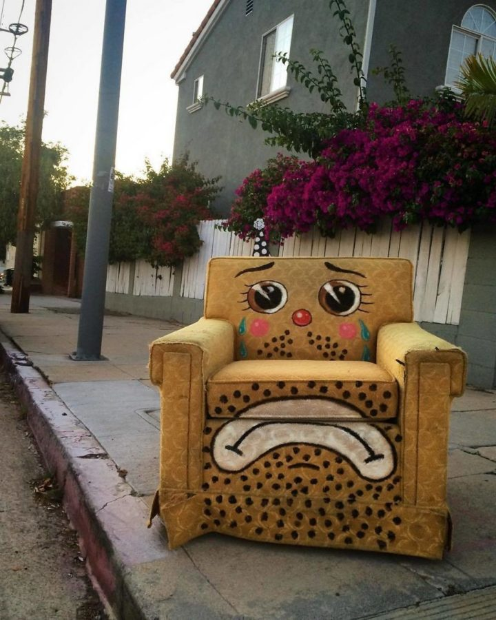 Sad chair.