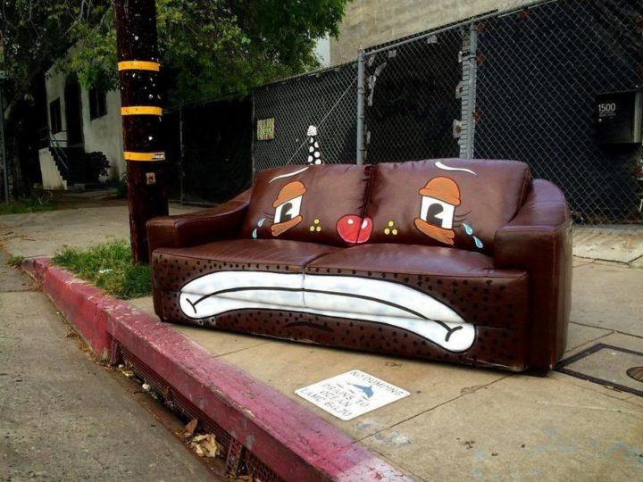 Sad couch.