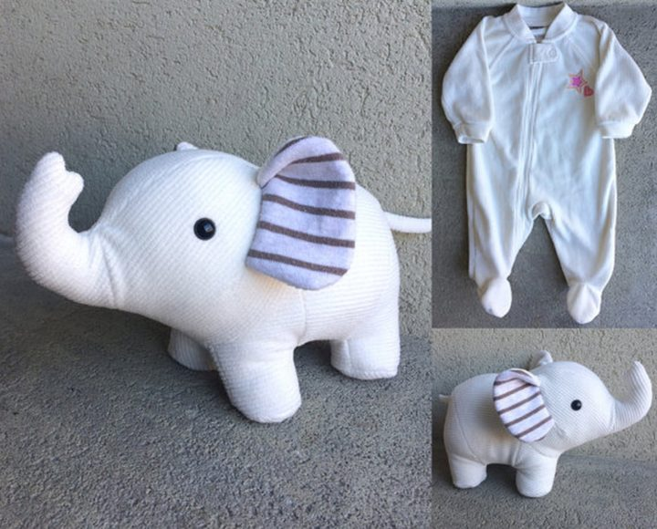 This beautiful memory elephant by NestlingKids is creative and can be treasured forever.