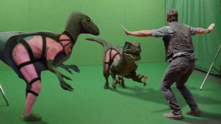 What Hollywood Blockbusters Look like with Visual Effects Removed.