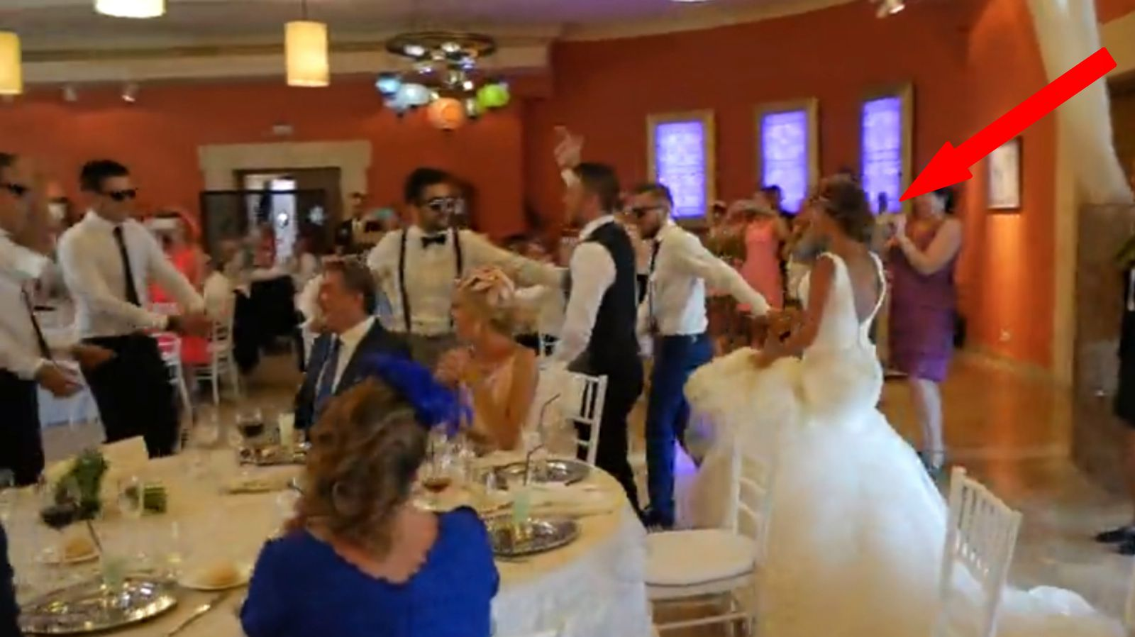 Husband And Groomsmen Deliver Surprise Performance For One Lucky Bride