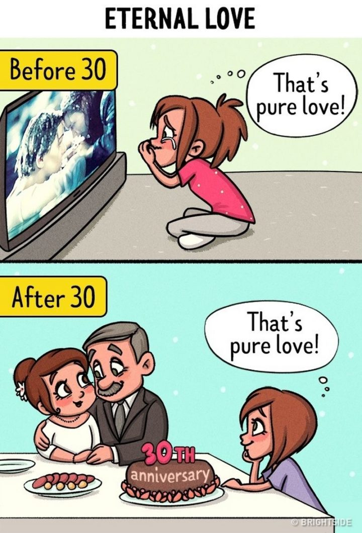 Eternal love before and after 30.