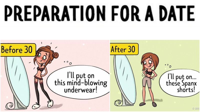 What Love Looks like Before and After 30 Explained in 12 Comics.