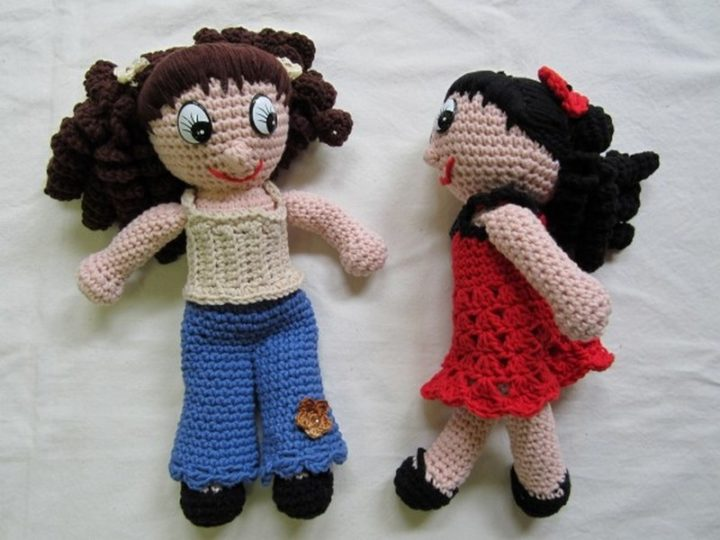 A husband found stacks of money totaling $95,000 and two crocheted dolls that his wife hid from him.