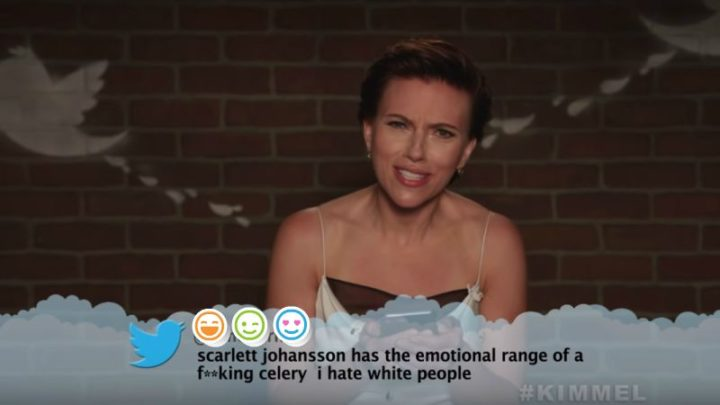 Jimmy Kimmel's Mean Tweets Avengers Edition Features Cast Members.
