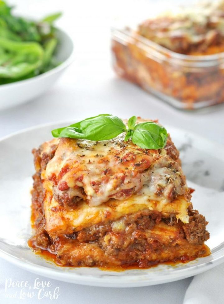 "15 Best Lasagna Recipes - ""Just Like the Real Thing"" Low Carb Keto Lasagna."