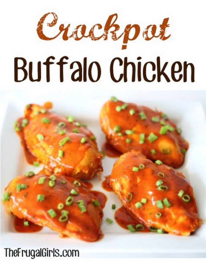 14 Chicken Recipes You Will Love - Crockpot Buffalo Chicken.