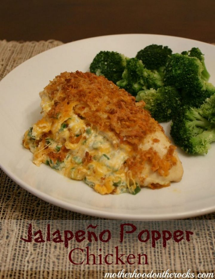 19 Chicken Recipes You Will Love - Jalapeño Popper Chicken.
