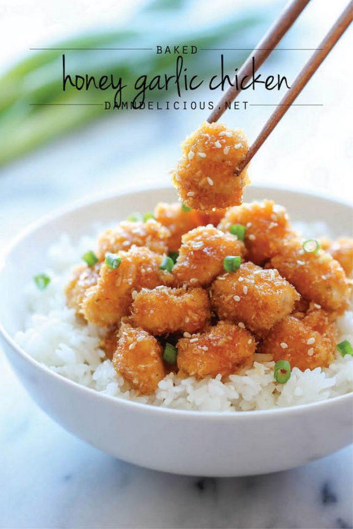 19 Chicken Recipes You Will Love - Baked Honey Garlic Chicken.