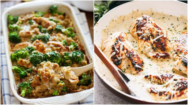 19 Chicken Recipes That You Will Love! Easy to Make and so Delicious.