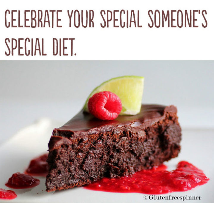 "21 Cute Ways to Say ""I Love You"" - Celebrate your special someone's special diet."