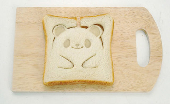 Panda bear toast never looked better.