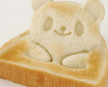 Panda Bear Toast Cutter Makes Every Breakfast Super Cute.