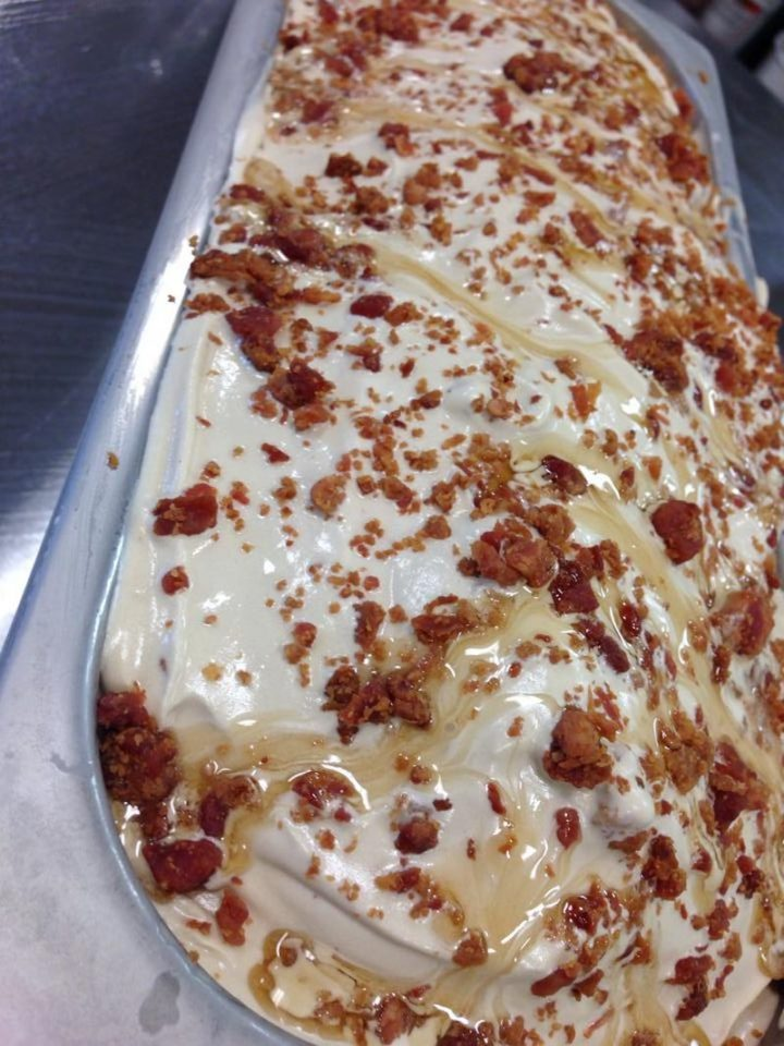 Half Pint Creamery - Maple bacon.