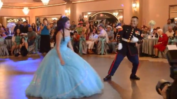 Epic Quinceanera Father-Daughter Dance That Leaves Everyone in Awe.