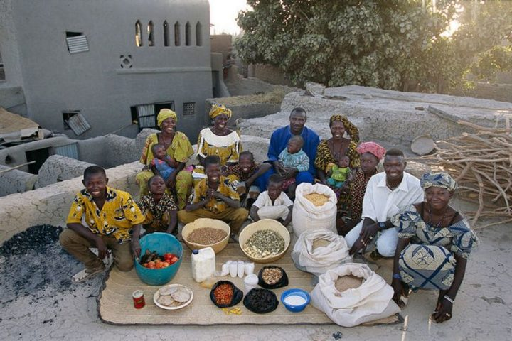 Mali: $26 USD per week in groceries.