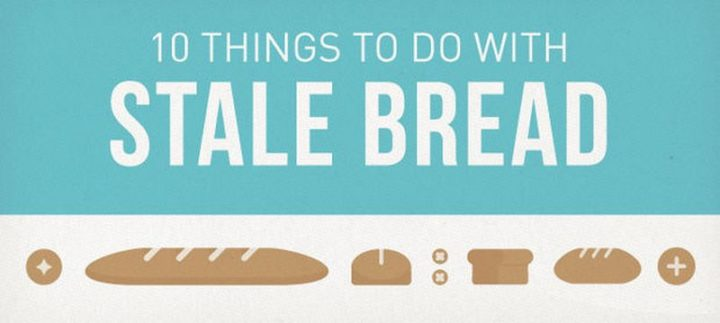 10 Ways to Soften Stale Bread.