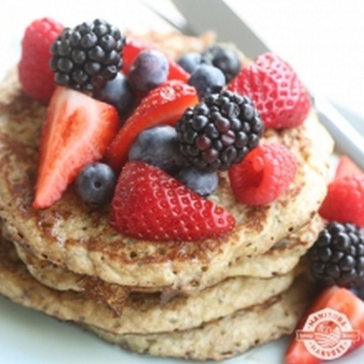 15 Luscious Pancake Recipes - Hemp Pancakes.