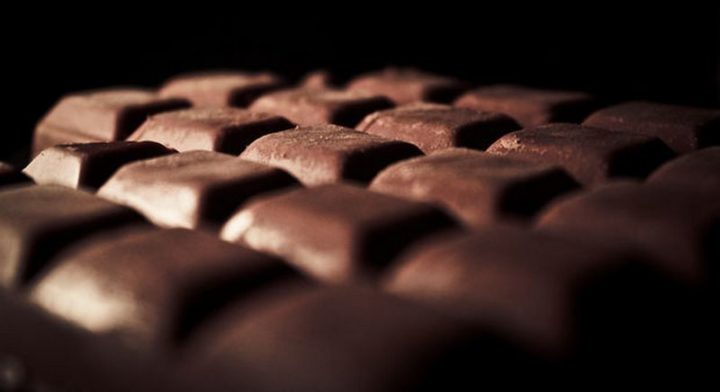 25 Facts About Chocolate - Every second, 100 pounds of chocolate is eaten in America. 500 pounds were eaten in the time it took to read this sentence.
