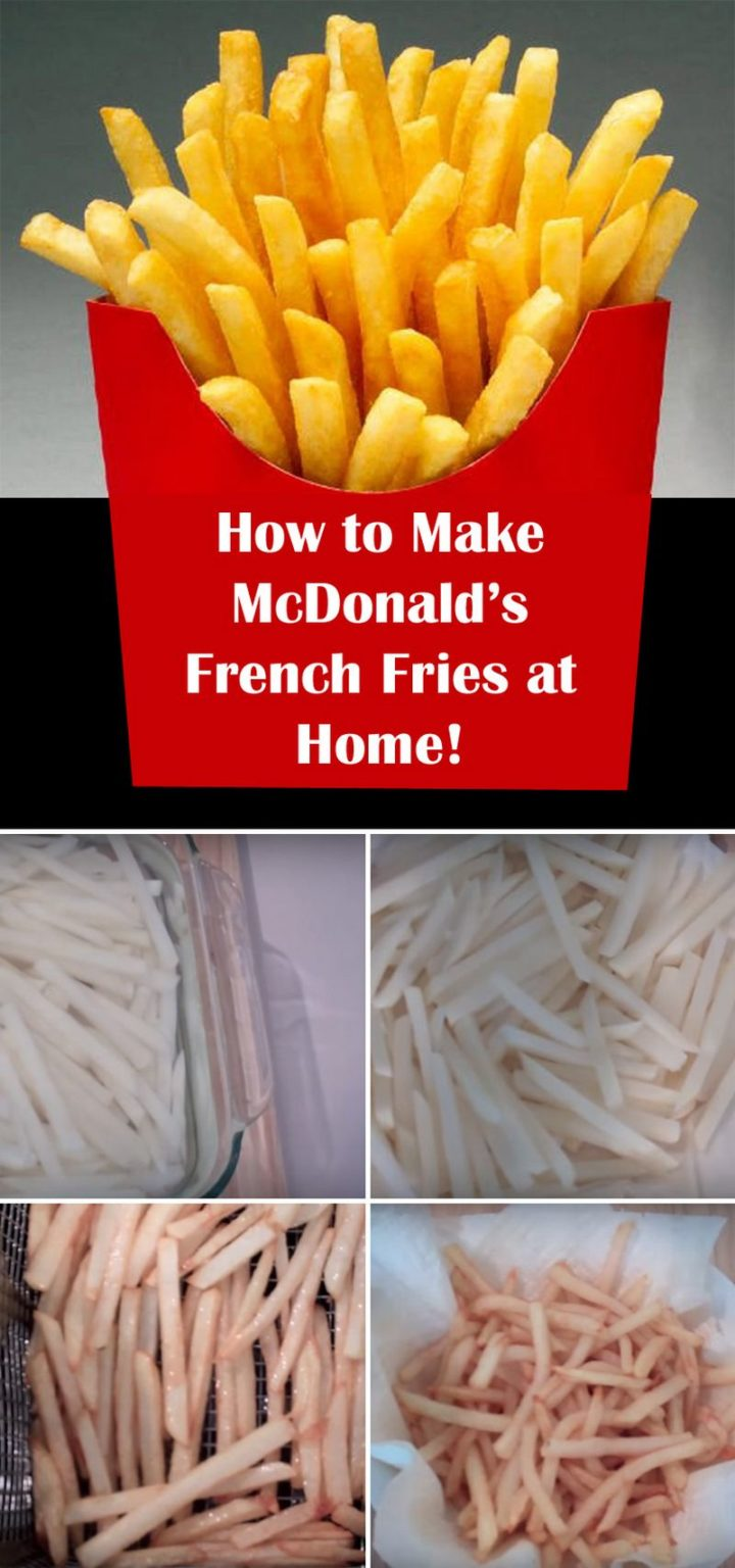 Pin McDonald's Fries Copycat Recipe for Later.