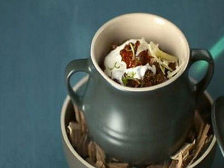23 Best Chili Recipes - Chilli Con Carne with Cornbread Muffins.