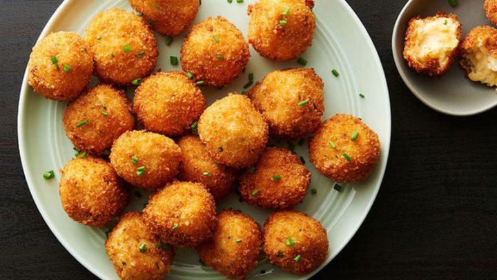 29 Best Potato Recipes - Cheesy Mashed Potato Balls.
