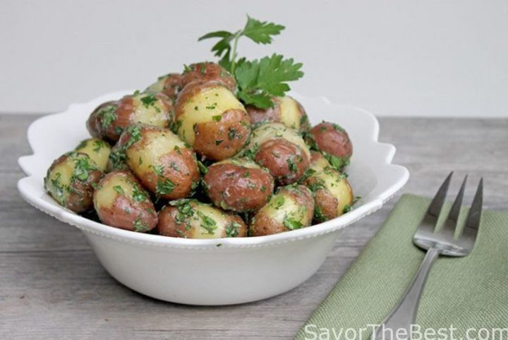 29 Best Potato Recipes - Parsley Baby Red Potatoes.