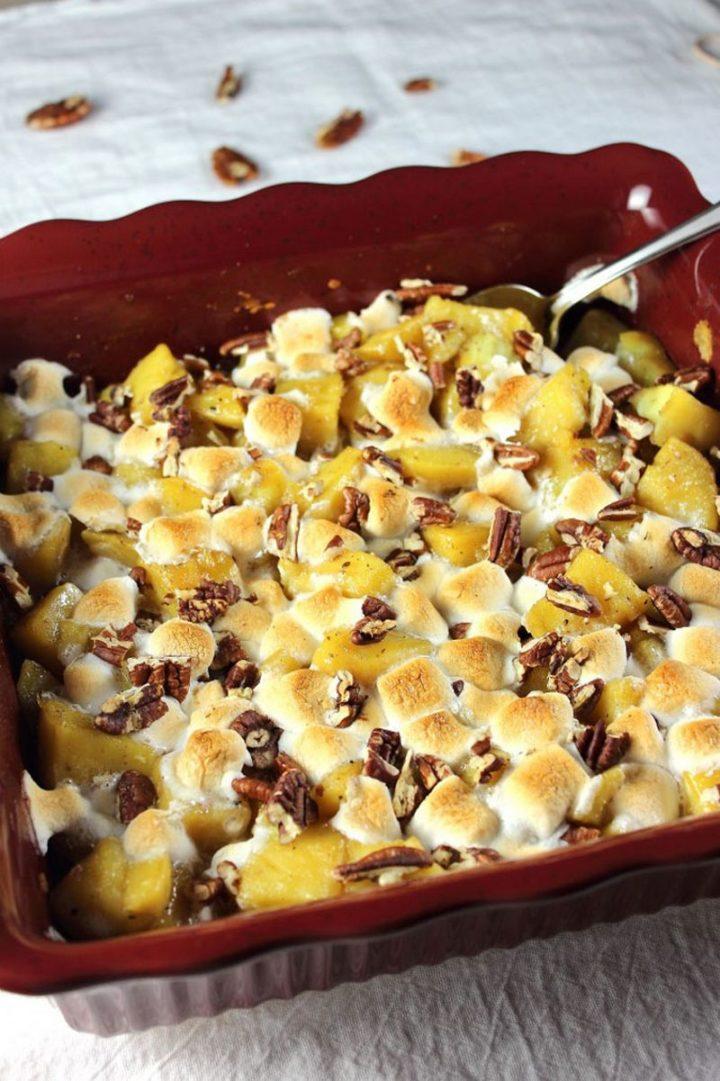 29 Best Potato Recipes - Healthier Sweet Potato Casserole.
