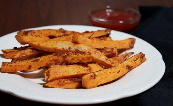 29 Best Potato Recipes - Healthy Baked Sweet Potato Fries.