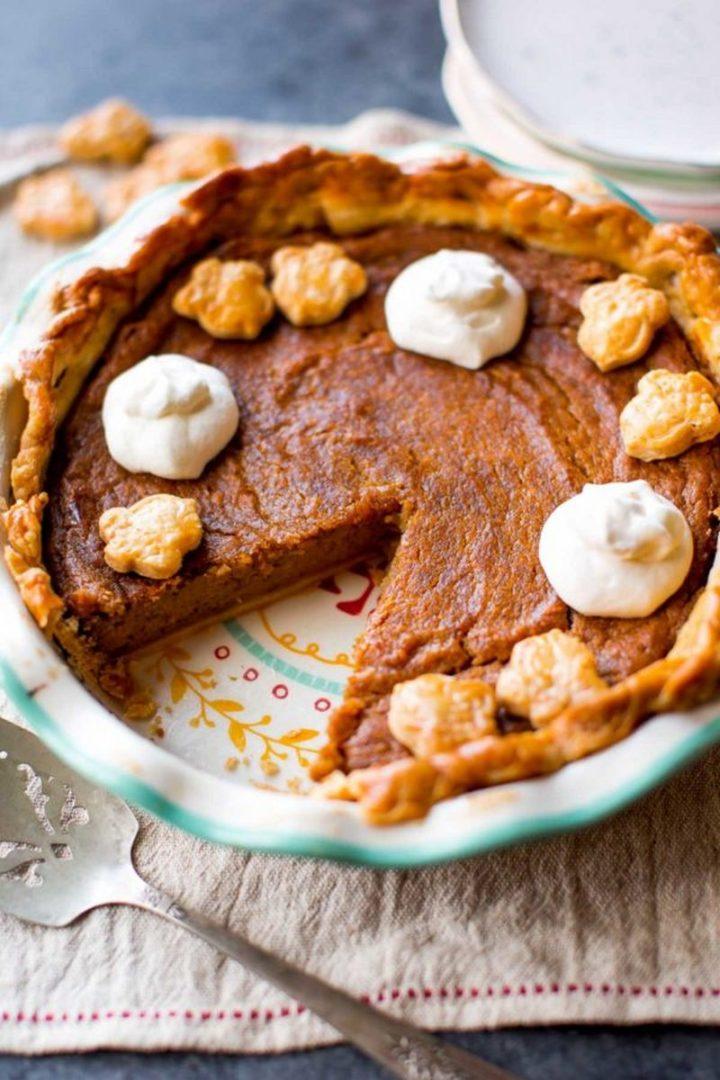 29 Best Potato Recipes - Brown Sugar Sweet Potato Pie.