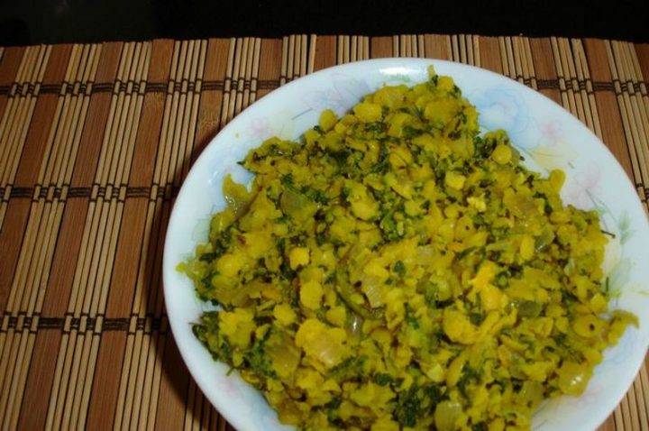 49 Indian Side Dishes - Dal With Methi.