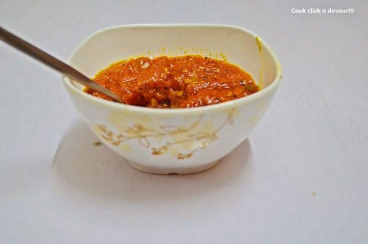49 Indian Side Dishes - Tomato Thokku.