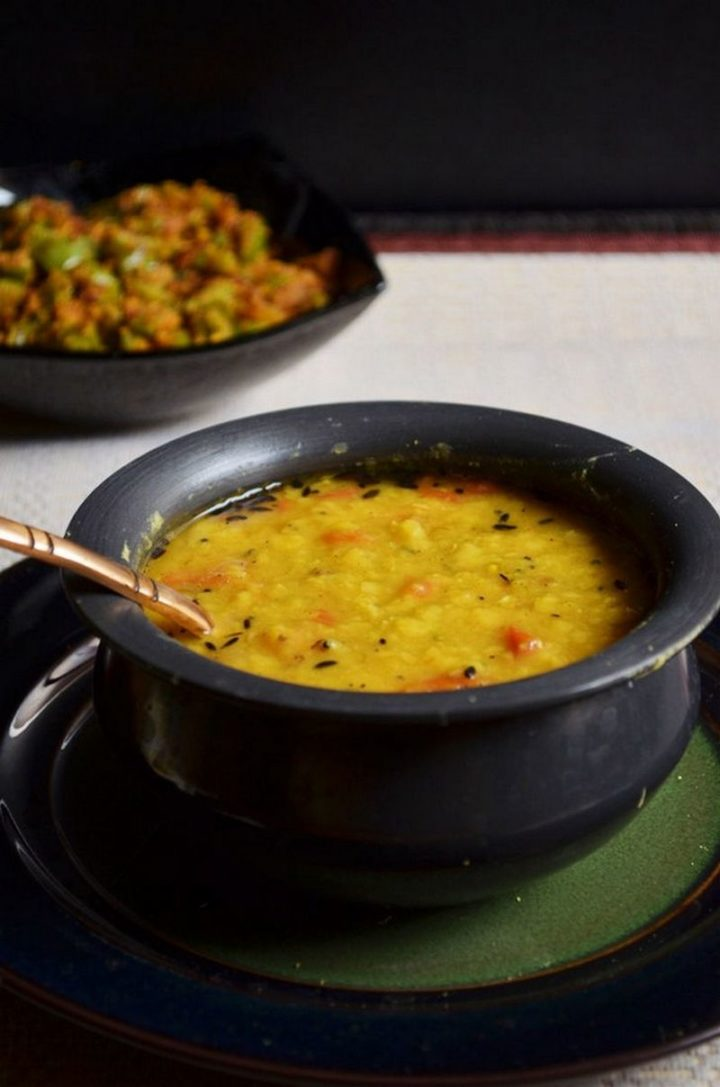 49 Indian Side Dishes - Dal Fry.