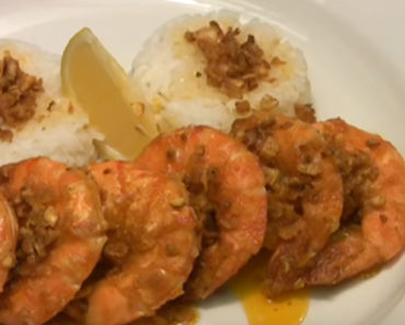 Hawaiian Garlic Shrimp Scampi Recipe by Chef Jason Hill.