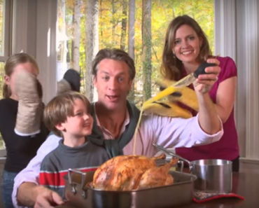 Holderness Family Performs 'All about That Baste,' A Thanksgiving Parody.