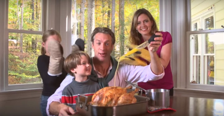 Holderness Family Performs 'All about That Baste,' A Thanksgiving Parody